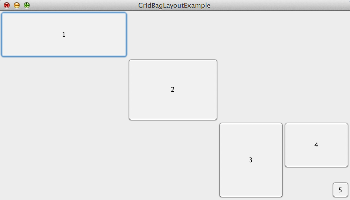 Another gridbag layout example