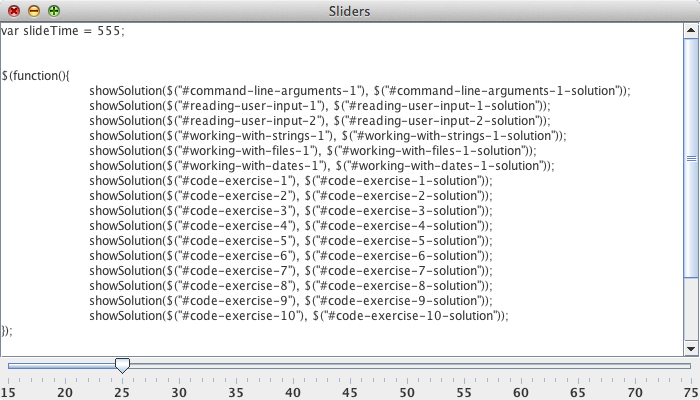 JavaPerspective com - 5 29  Sliders